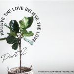 receive the love - believe the love