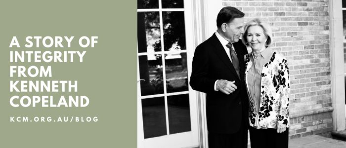 A Story of Integrity From Kenneth Copeland