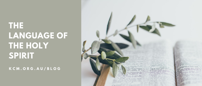 The Language of the Holy Spirit
